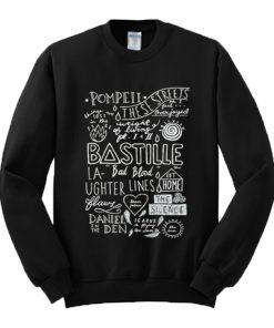 Bastille Collage Art Sweatshirt