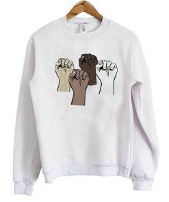Black Lives Matter Crewneck Sweatshirt