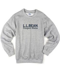 LL BEAN Freeport Maine Sweatshirt